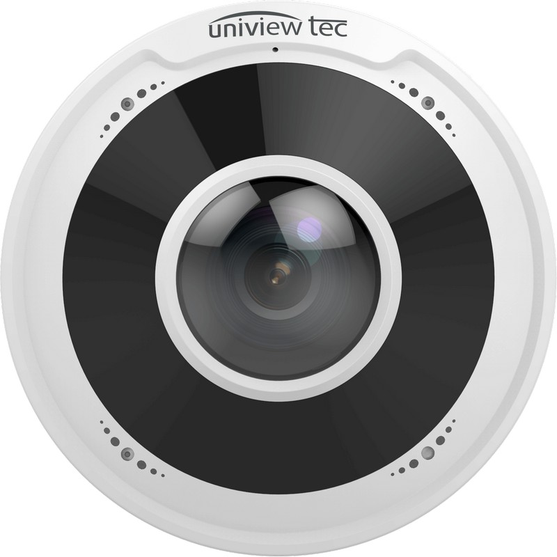 4MP 180° True Day/Night IR Panoramic Dome Camera_Front View