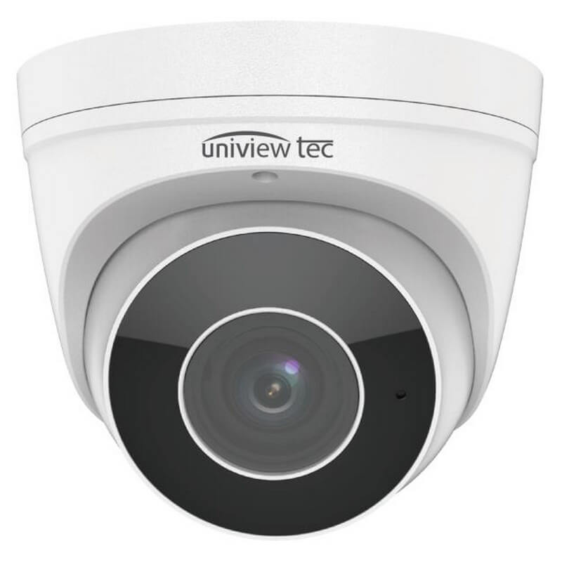 4MP Turret Camera, 2.7-12mm, MTR, TDN, WDR, 98ft IR, SD Slot, IP67, 12V/PoE_front view