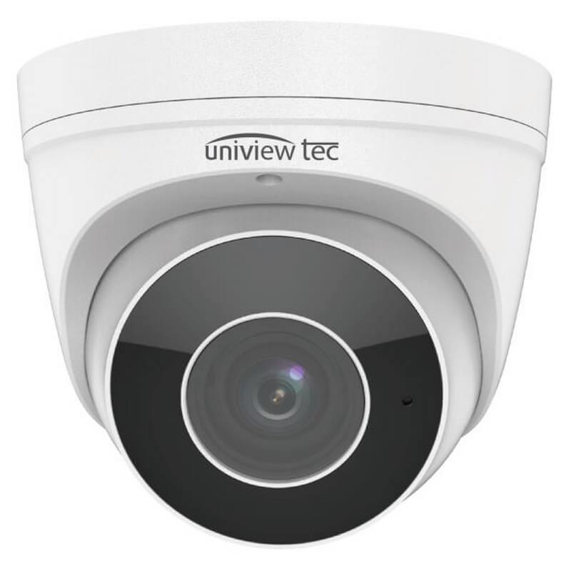 4MP Turret Camera, 2.7-12mm, MTR, TDN, WDR, 98ft IR, SD Slot, IP67, 12V/PoE