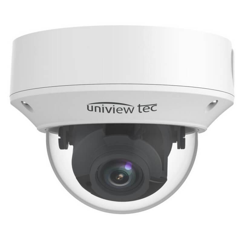 4K Vandal Dome Camera, 2.8-12mm, MTR, TDN, WDR, 98ft IR, SD Slot, IP67, 12V/PoE