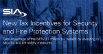 New Tax Incentives for Security and Fire Protection Systems