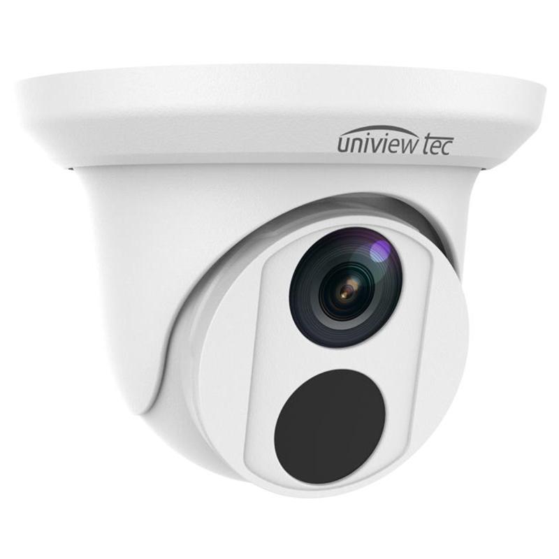 4K Turret Camera, 2.8mm fixed lens, TDN, WDR, 98ft IR, IP67, 12V/PoE