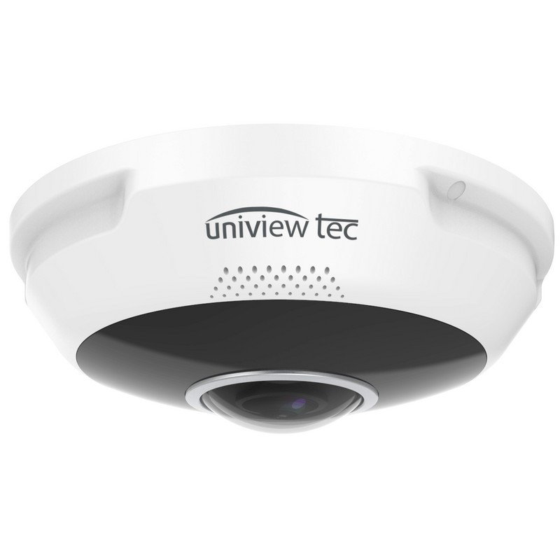 12MP 360° True Day/Night IR Panoramic Dome Camera_Side View