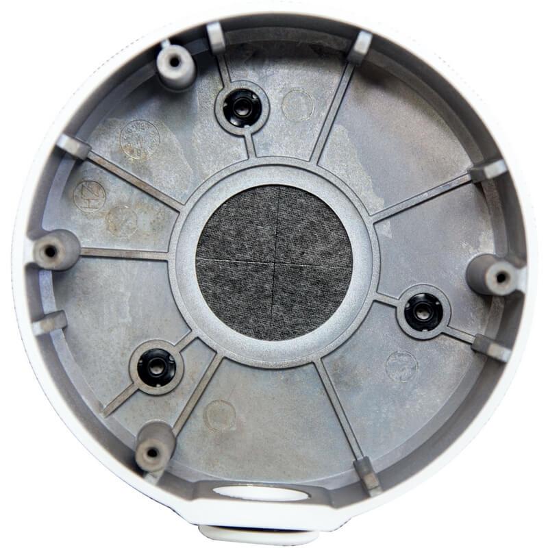 "Junction Box_Φ 126 x 36mm (Φ5 x 1.4"")_Bottom View"