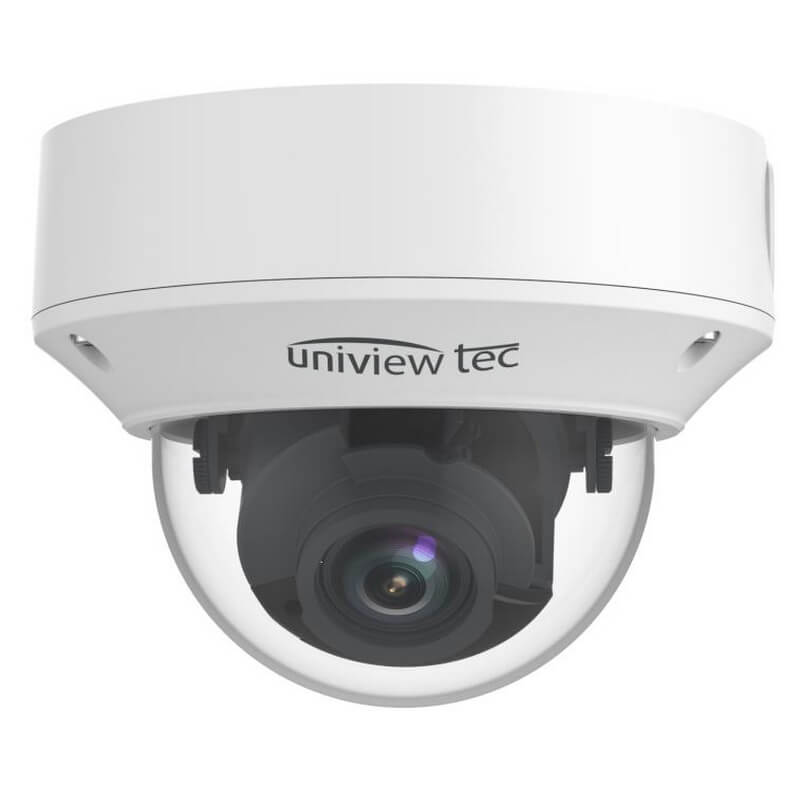 4K Vandal Dome Camera, 2.8-12mm, MTR, TDN, WDR, 98ft IR, SD Slot, IP67, 12V/PoE_Front View02