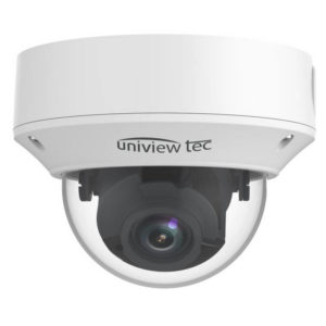 4K Vandal Dome Camera, 2.8-12mm, MTR, TDN, WDR, 98ft IR, SD Slot, IP67, 12V/PoE_Front View01